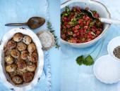 Gp, ugnsbakad potatis, tomatsalsa