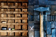 Loricks Smedja, hammare, verktyg