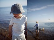 Strand, sommmar, barn